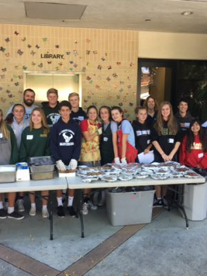 8th Grade FIA Raises $800 with Pancake Breakfast