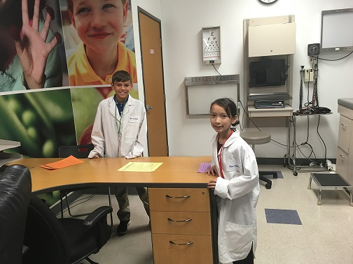 5th Grade Visits BizTown