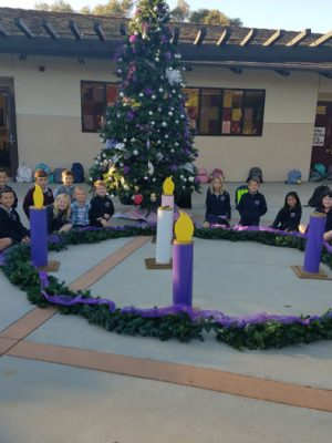 Second Graders Rejoice in the Third Week of Advent