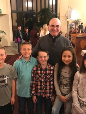 Sacred Spaces Tour a big hit with 3rd Graders