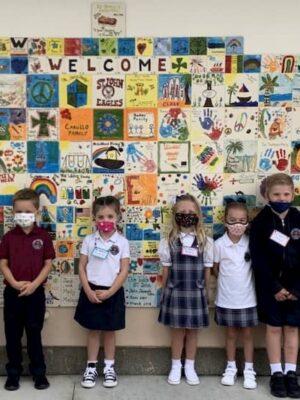 Welcome Back to Saint John School Campus K-2nd Grade!