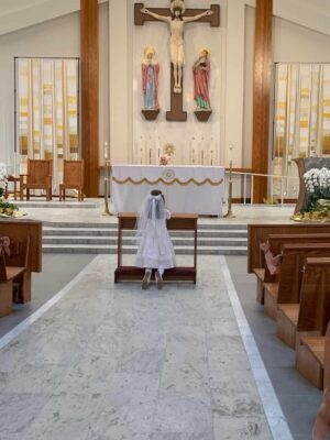 A Blessed First Eucharist